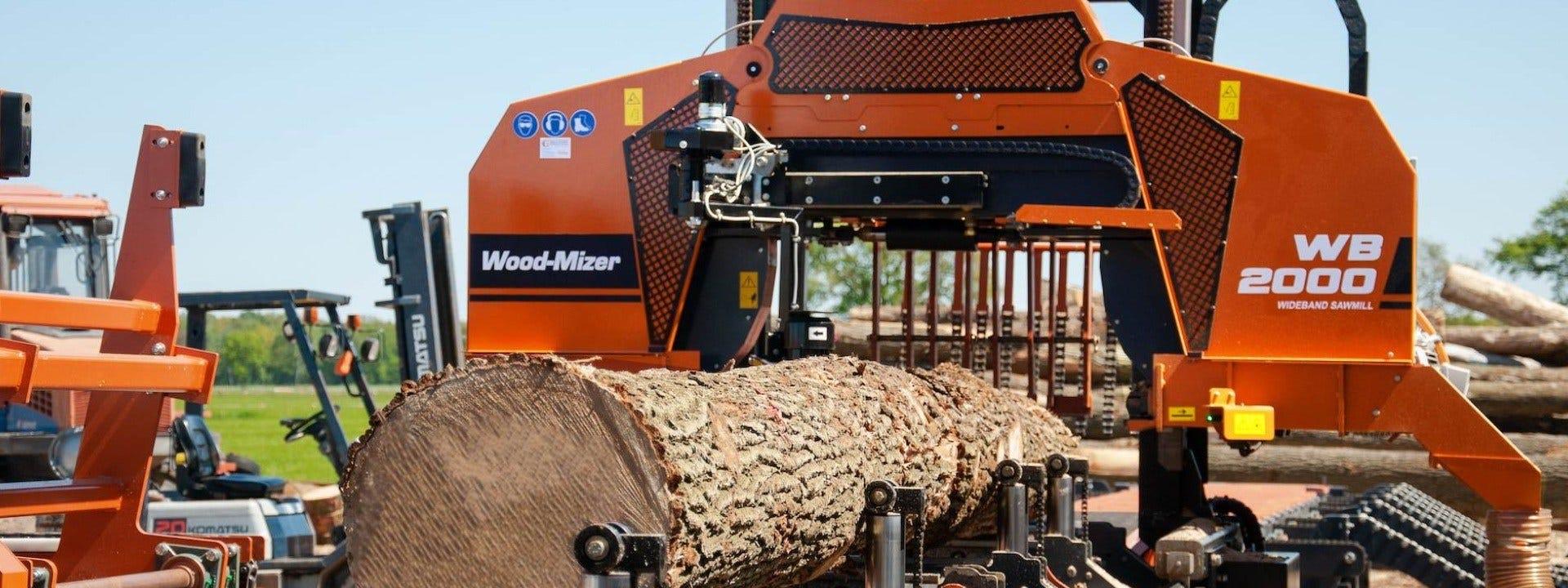 WB2000 High-Performance Industrial Sawmill