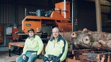 Sawmilling Specialty Timber in Tasmania