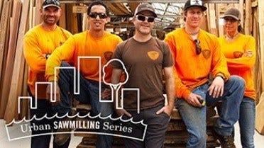 Urban Sawmilling in Hawaii