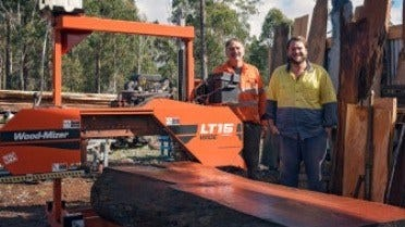 Sawmilling Specialty Timbers in Tasmania
