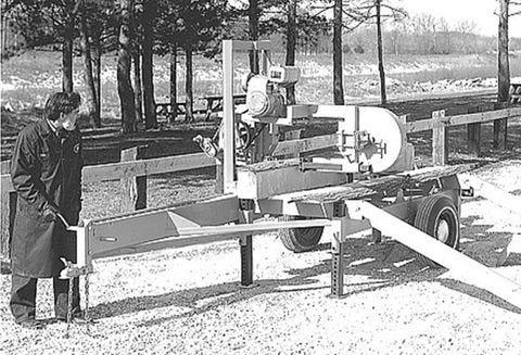 Don Laskowski operates a sawmill.