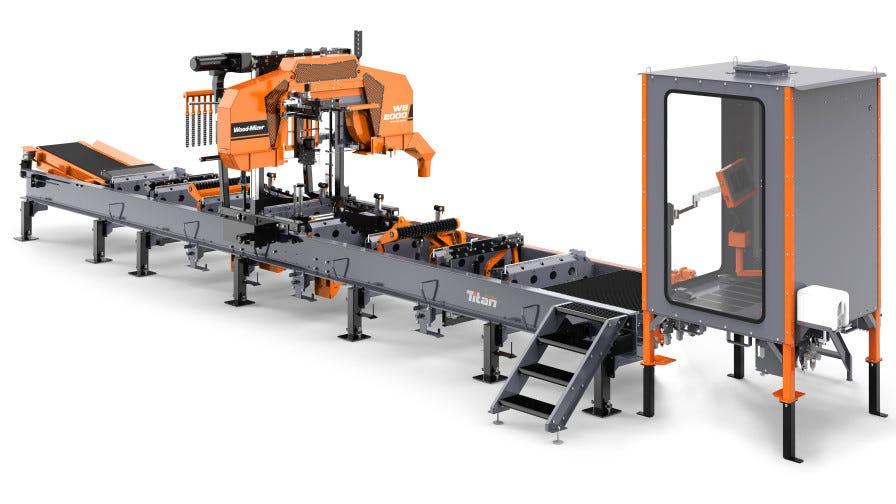 WB2000 sawmill
